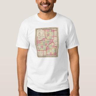 Logan, Sangamon, Christian counties Tee Shirt