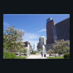 "Logan Square, Philadelphia, Photo Print<br><div class=""desc"">This is a photograph of Logan Square and Swann Memorial Fountain in Center City Philadelphia during the spring.</div>"