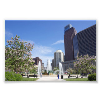 Logan Square, Philadelphia, Photo Print
