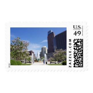 Logan Square, Philadelphia, Postage Stamp