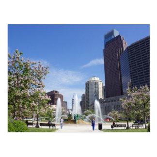 Logan Square, Philadelphia, Postcard