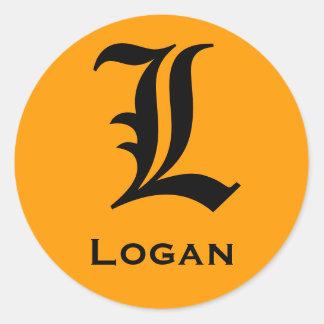 Logan Sticker