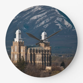Logan Temple Large Clock