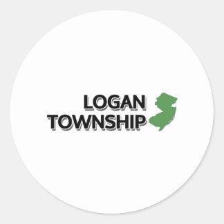Logan Township, New Jersey Sticker