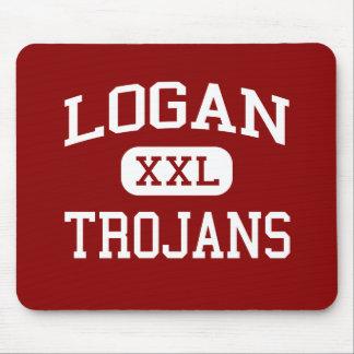 Logan - Trojans - Logan High School - Logan Kansas Mouse Pad