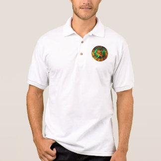 Logan's Flaming Spartan Circle Polo Shirt