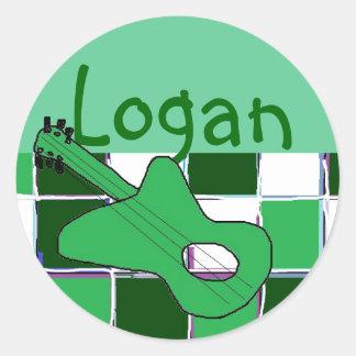 Logan's stickers