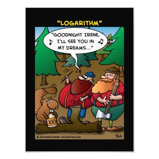 """Logarithm"" Photo Print"