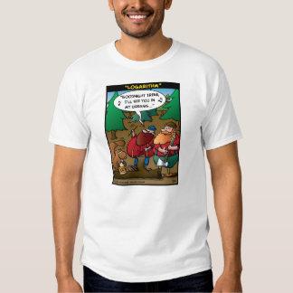 """Logarithm"" T Shirt"