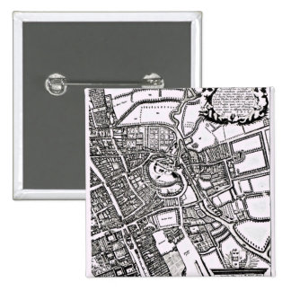 Loggan's map of Oxford, Western Sheet Button