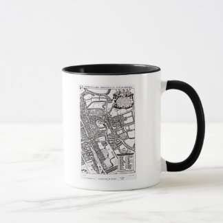 Loggan's map of Oxford, Western Sheet Mug
