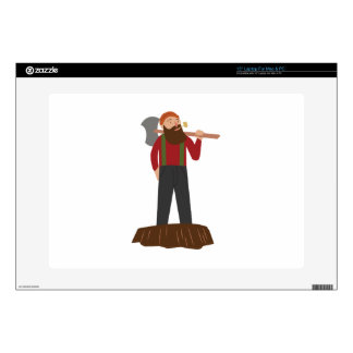 Logger Decal For Laptop