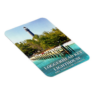 Loggerhead Key Lighthouse, Dry Tortugas Florida Magnet
