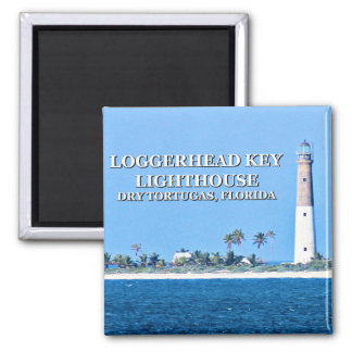 Loggerhead Key Lighthouse, Florida Magnet
