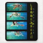 Loggerhead Sea Turtle Study Mousepad