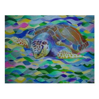 Loggerhead Turtle Postcard