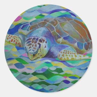 Loggerhead Turtle Stickers