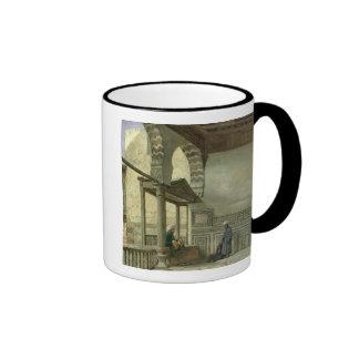 Loggia of Memlook Radnau Bey's House, Cairo Ringer Mug
