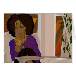 Loggia Peruse.png Greeting Cards