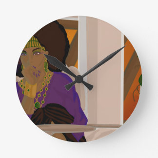 Loggia Peruse.png Round Clock