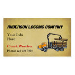 Logging Company Business Cards