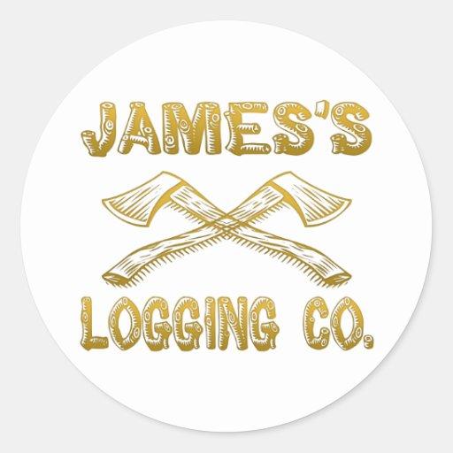 Logging Company de James Pegatina Redonda