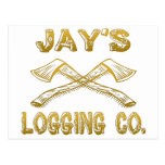Logging Company de Jay Tarjeta Postal