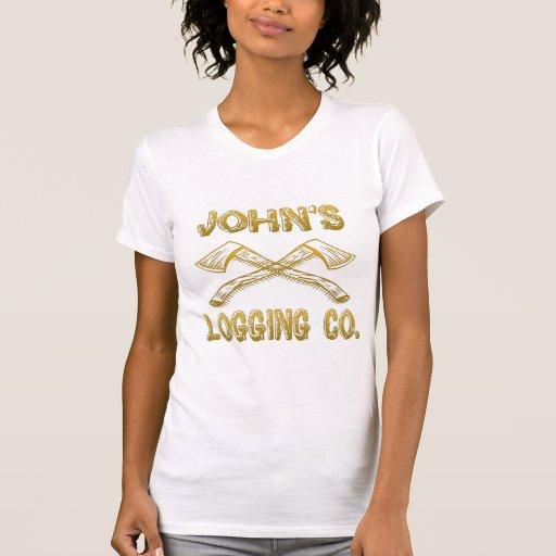 Logging Company de John's Camiseta