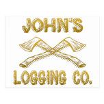 Logging Company de John's Postal