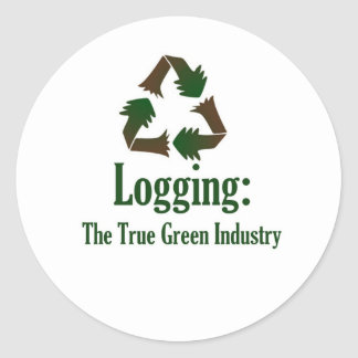 Logging: Green Industry Stickers