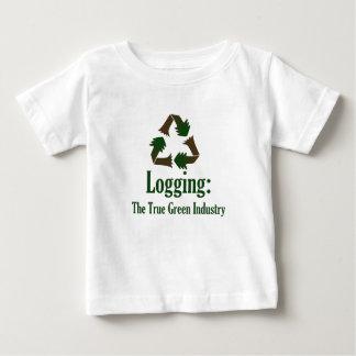 Logging: Green Industry Tee Shirt