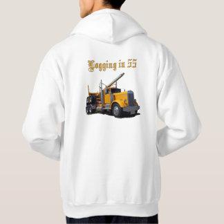 Logging in 55 hoodie