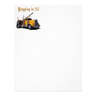 Logging in 55 letterhead
