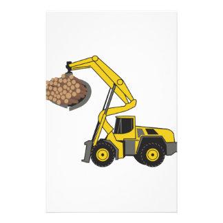 Logging Loader Stationery