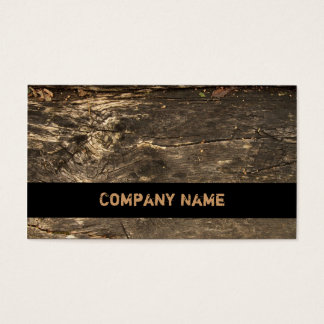 Logging Ranks Business Card