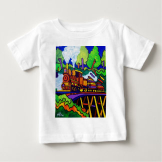 Logging Train T Shirt