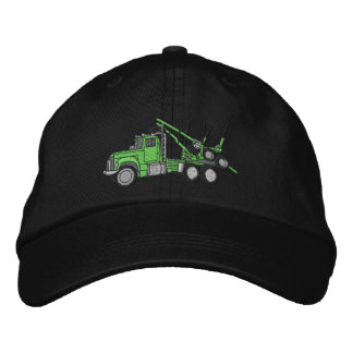 Logging Truck Embroidered Hat