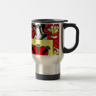 Loggins Coat of Arms 15 Oz Stainless Steel Travel Mug