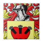 Loggins Coat of Arms Tile