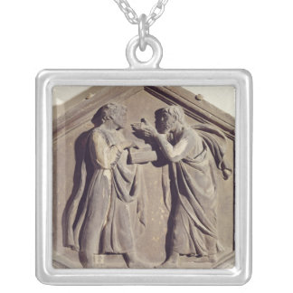 Logic and Dialectic Silver Plated Necklace