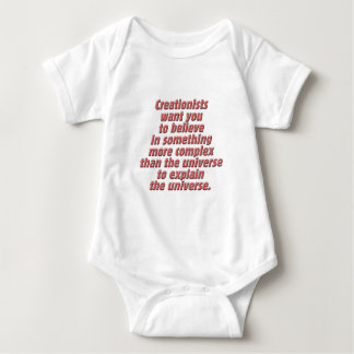 Logic for the Creationist Baby Bodysuit