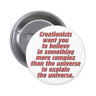 Logic for the Creationist Pinback Buttons