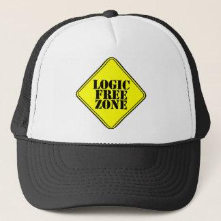 LOGIC FREE ZONE TRUCKER HAT