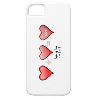 Logic of Love- One Plus One Make One iPhone SE/5/5s Case