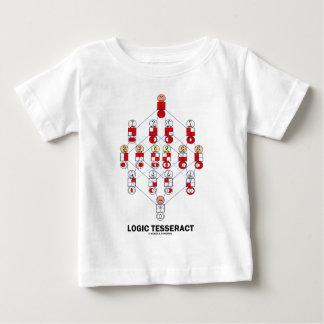 Logic Tesseract (Hasse Diagram) Tee Shirt