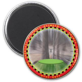 Lógica #2 del golf del disco imán redondo 5 cm