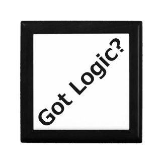 ¿Lógica conseguida? Caja De Joyas