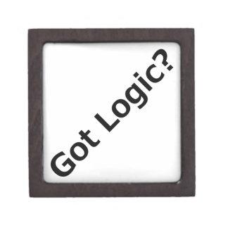 ¿Lógica conseguida? Cajas De Regalo De Calidad