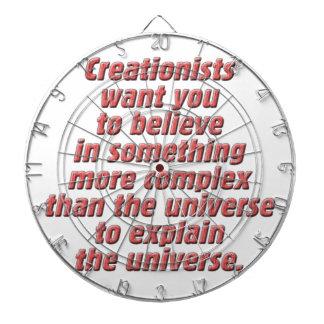 Lógica para el Creationist Tablero Dardos