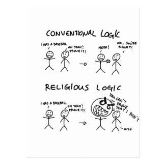 Lógica religiosa postales